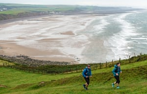 Leaving St Bees - fell running on the Coast to Coast trail