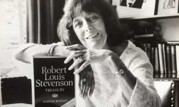 Alanna Knight wrote extensively about Robert Louis Stevenson, both non-fiction and fiction