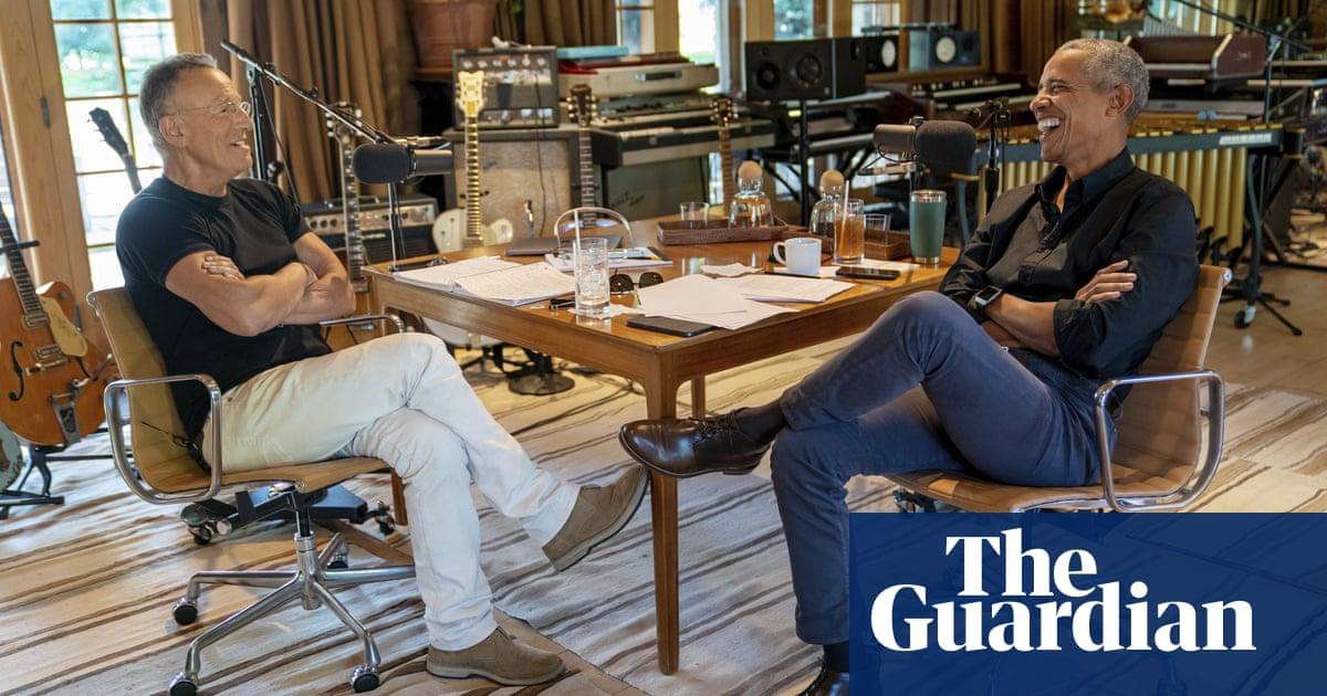 Barack Obama and Bruce Springsteen team up for new podcast