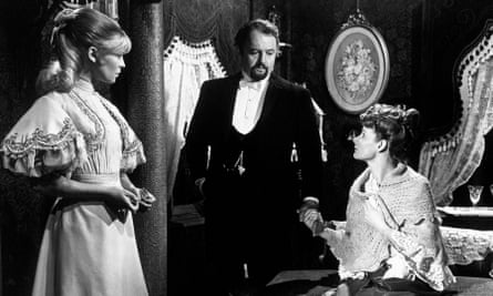 Adrienne Corri, right, as the mother of Lara (Julie Christie, left) in Dr Zhivago, 1965