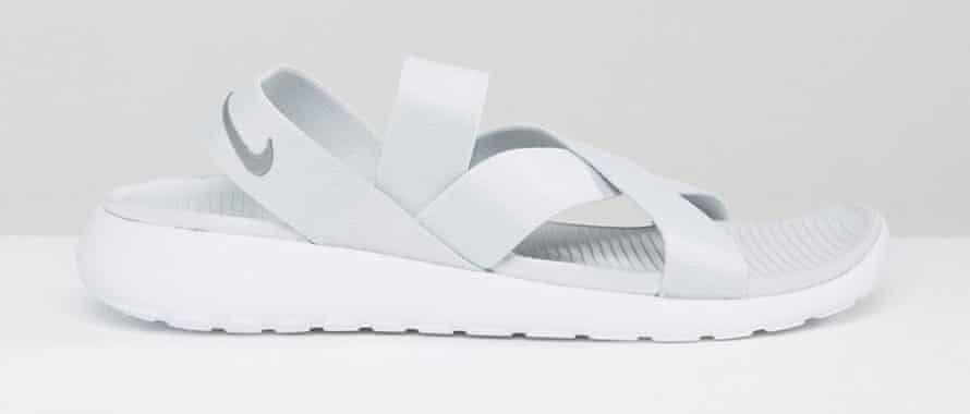 Nike criss-cross sliders, £52.