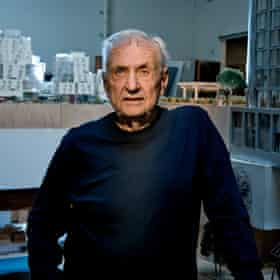 Frank Gehry, photographed at his Los Angeles offices last year.