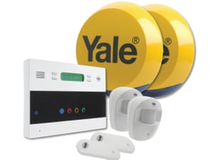 A DIY burglar alarm