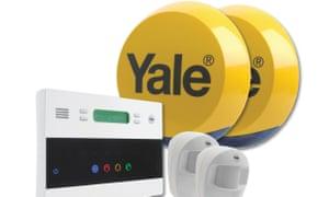 Yale wireless burglar alarm