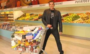 Dale Winton on Supermarket Sweep