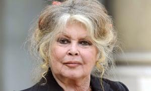 High-profile critic … Brigitte Bardot.
