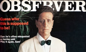 'This doesn't even look like the man who looks like Humphrey Bogart': the Observer Magazine, 31 August 1980.