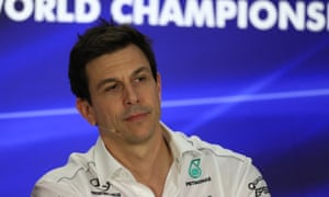 Toto Wolff, the Mercedes F1 executive director