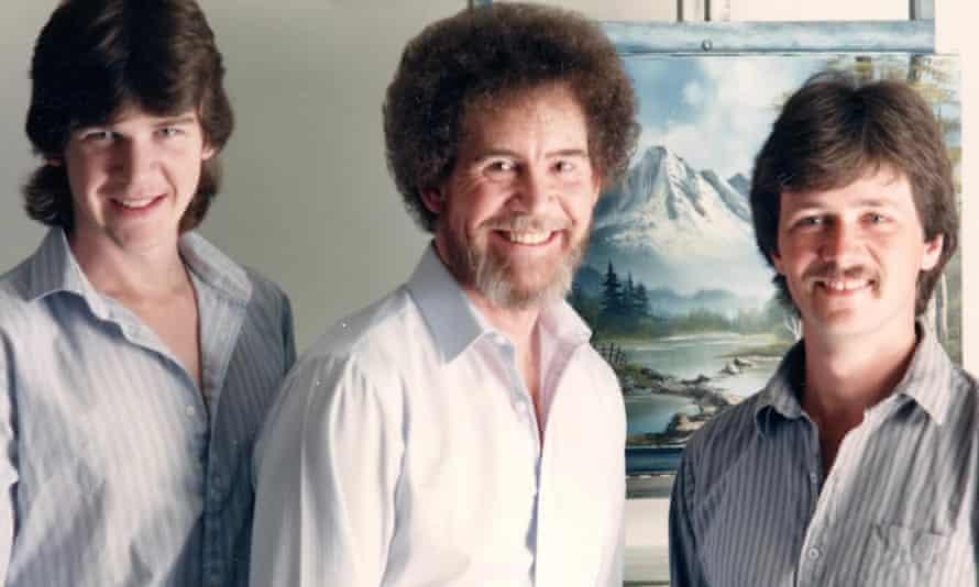 Steve Ross, Bob Ross and Dana Jester