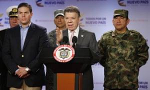 Colombia'n President Juan Manuel Santos