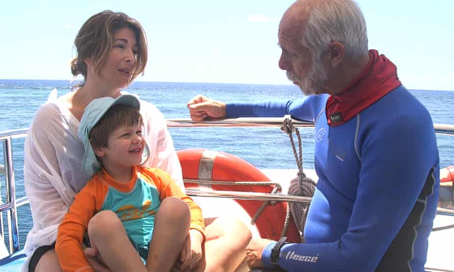 Naomi Klein at the Great Barrier Reef