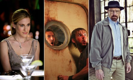 Sex in the City, Lost and Breaking Bad tv comp