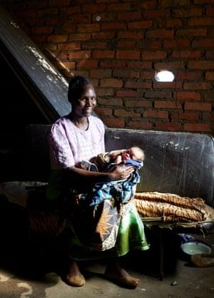 Esther Banda and baby Joyce