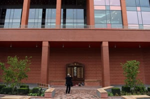 The Hillsborough memorial is also in a new location, in a specially designed garden, in front of the redeveloped Main Stand