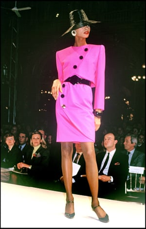 Givenchy's ready to wear show in 1989