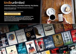 Weak checks … Kindle Unlimited's storefront.