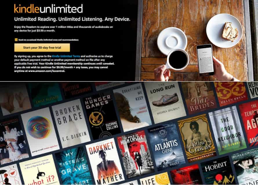 Weak checks … Kindle Unlimited's storefront.