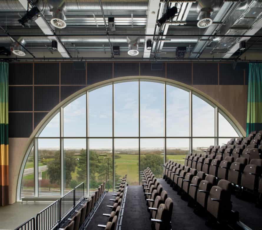 The MK Gallery's Sky Room auditorium.