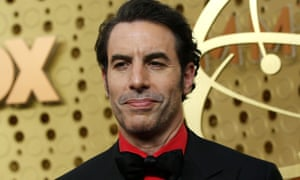 'Here's an idea for them: abide by basic standards' … Sacha Baron Cohen.