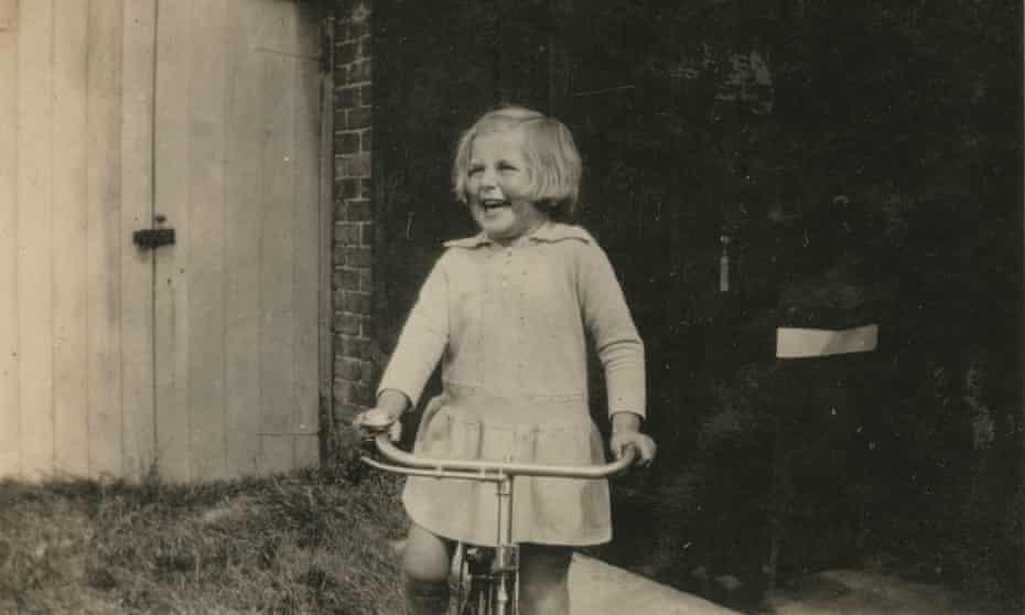 Laura Cumming's mother, Betty, c1930.