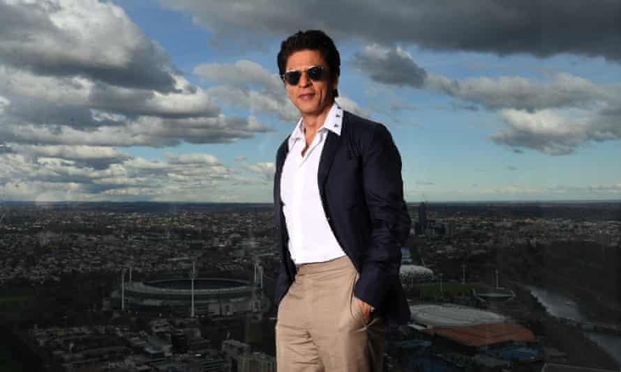 Bollywood superstar Shah Rukh Khan in Melbourne.