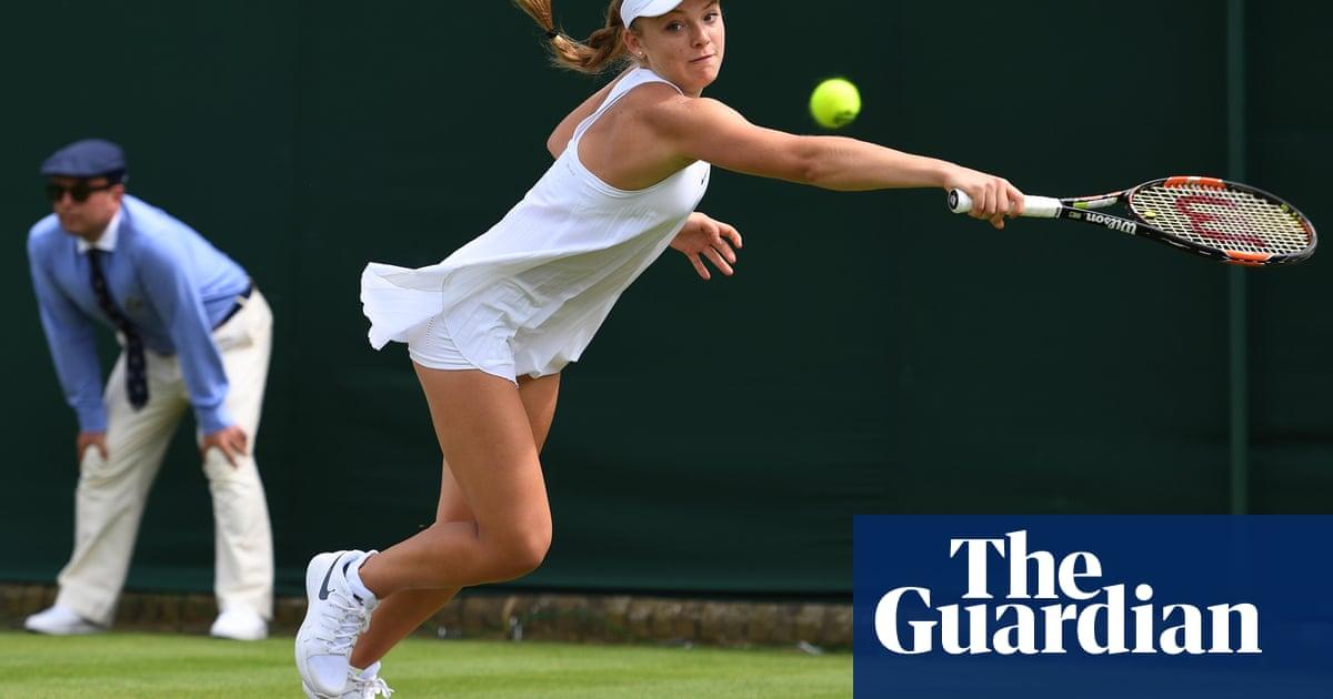 hablar Soportar Tesauro  Nike's Wimbledon 'nightie' – the most impractical sportswear ever?    Women's sportswear   The Guardian