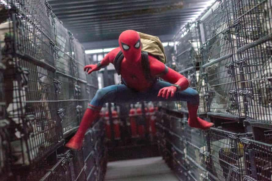 Tom Holland in Spider-Man: Homecoming.