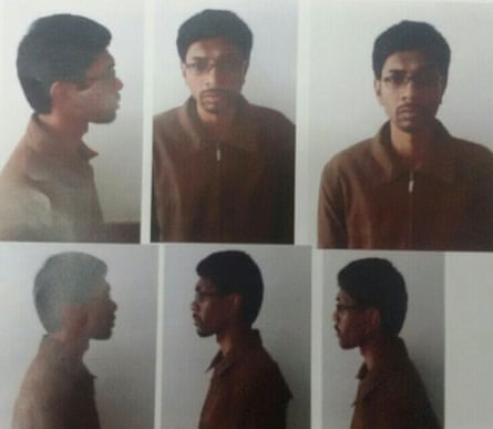 Images taken of Neil Prakash, one of Australia's most senior Isis recruits, after his arrest. He was previously though to have been killed after travelling to Syria.