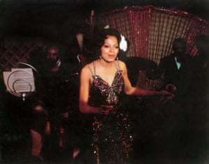 Ross as Billie Holiday in Lady Sings the Blues.