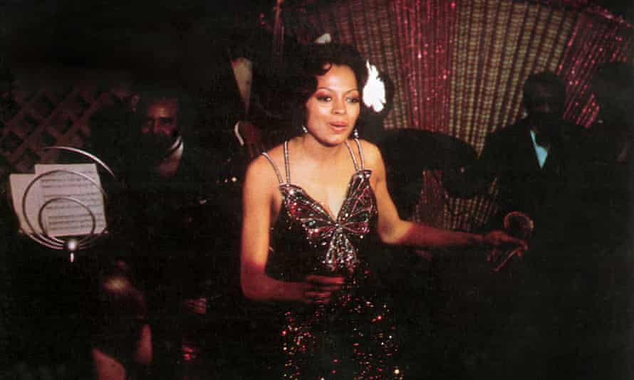 Diana Ross as Billie Holiday in Lady Sings the Blues