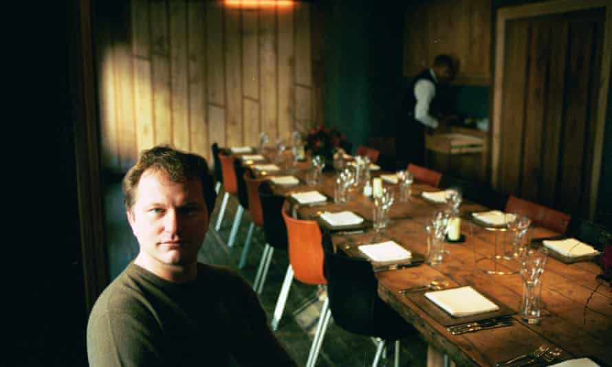 Nick Jones of Soho House, pictured in 2000.