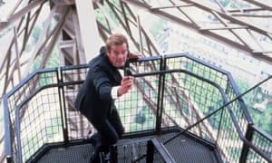 Roger Moore wields a Walther PPK in A View to a Kill ... one of the weapons reported stolen this week.