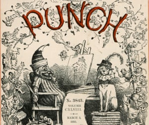 A classic Punch cover, with Mr Punch and his dog Toby