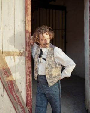 Western actor portrait in Luna Park
