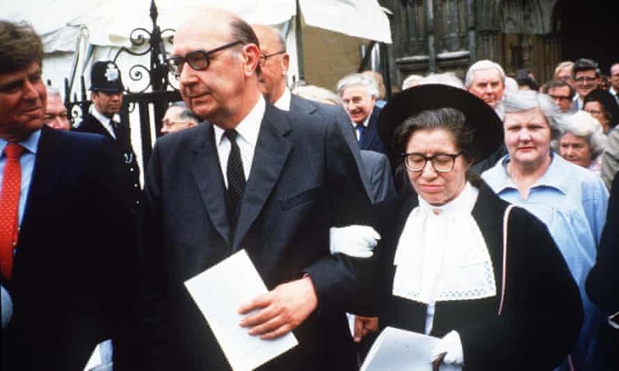 'A victim of misogyny, she was a bit of a misogynist herself' … Monica Jones with Philip Larkin.