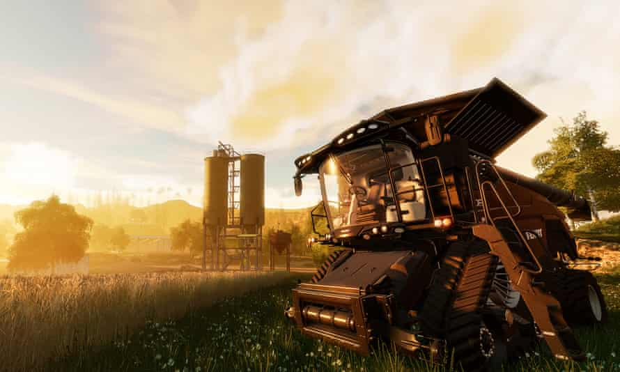 A screenshot from Farming Simulator 19, which will be released this year