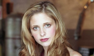 Lady and the vamps: Sarah Michelle Gellar as Buffy.