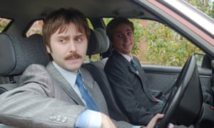 James Buckley (left) as Fitzpatrick and Joe Thomas as Lavender in White Gold.