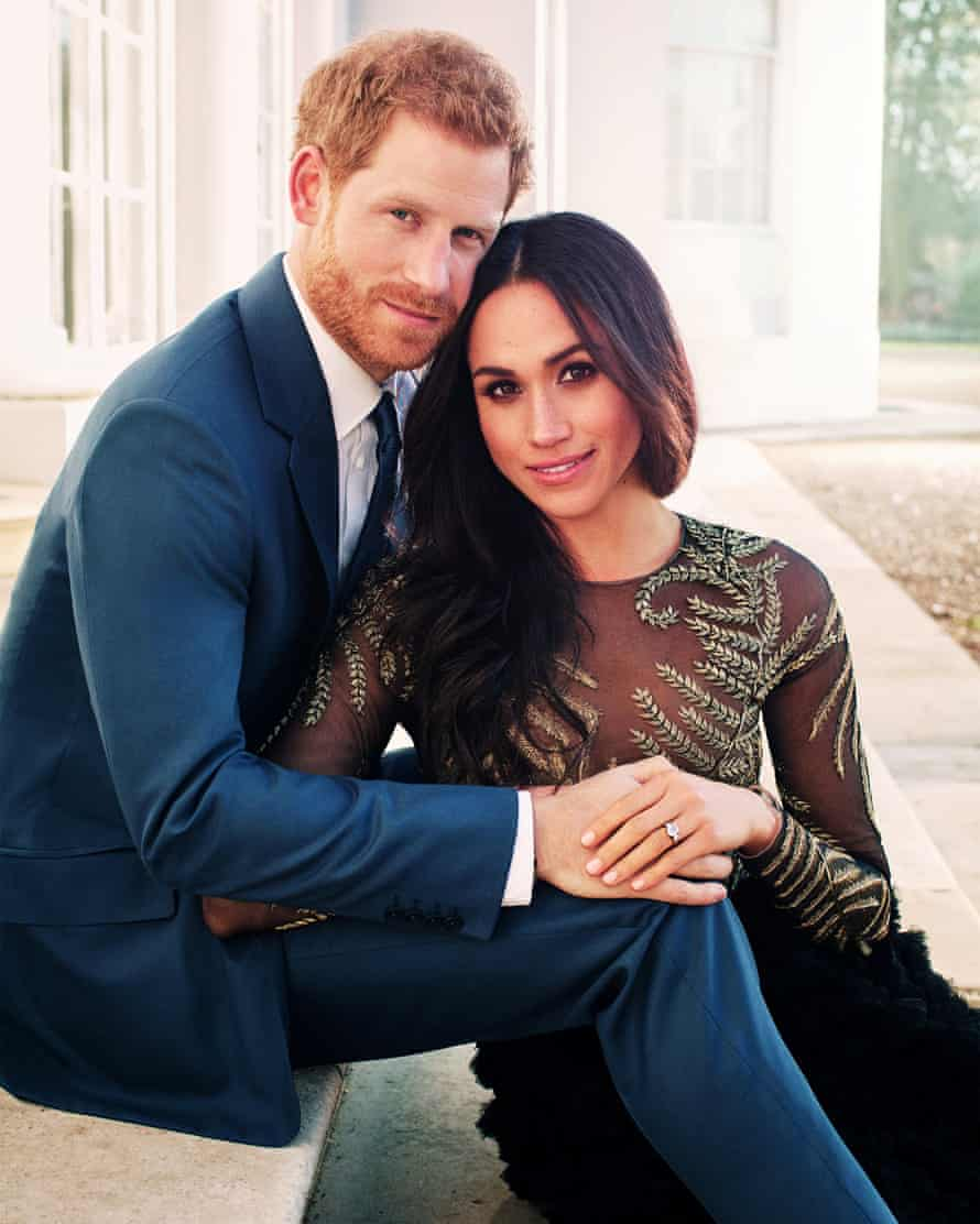 One of two official engagement photos, taken in December 2017 by Alexi Lubomirski.