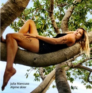 Skier Julia Mancuso is one of the celebrity supporters of the #EarthStatement campaign.