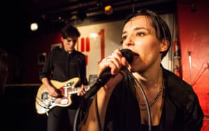 Gemma Thompson (guitar) with Jehnny Beth on vocals.