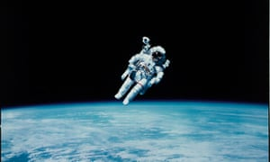 Bruce McCandless II performing the first untethered spacewalk 1984, Swann Galleries to sell set of NASA photos, including first Moon landing images