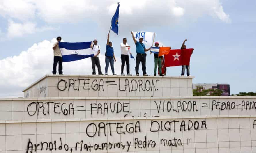 nicaragua opposition daniel ortega