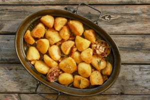 Roast potatoes for the Guardian Cook roasts supplement