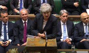 Theresa May at PMQs