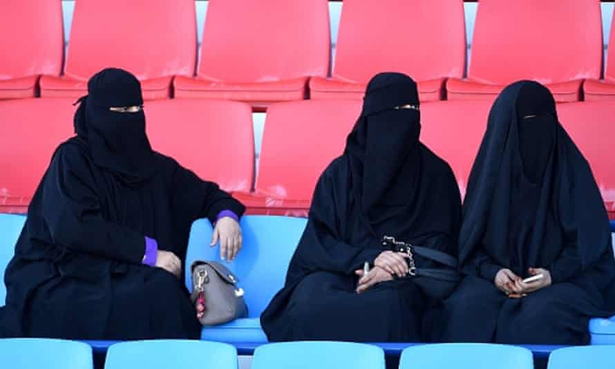 From 2018, Saudi women will be allowed to attend matches at sporting arenas.