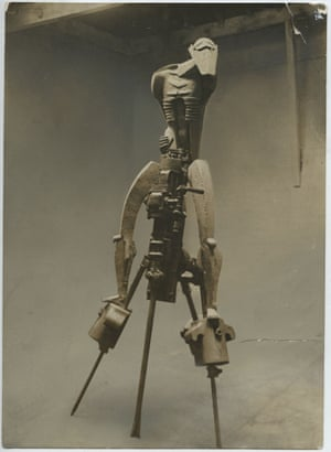 Jacob Epstein's Rock Drill (1913). Photograph courtesy of the estate of Sir Jacob Epstein