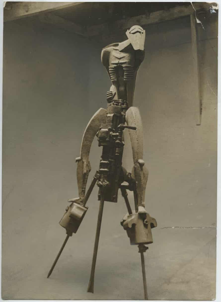 Jacob Epstein's Rock Drill (1913). Photograph courtesy of the estate of Sir Jacob Epstein