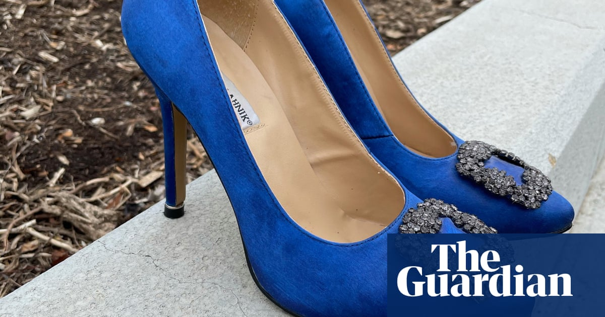 A Cinderella story: $2,125 Manolo Blahniks found in Canberra Vinnies for $35