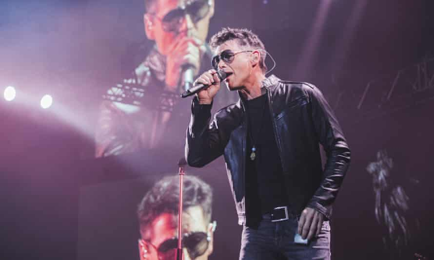 Morten Harket of a-ha at Manchester Arena on March 25.